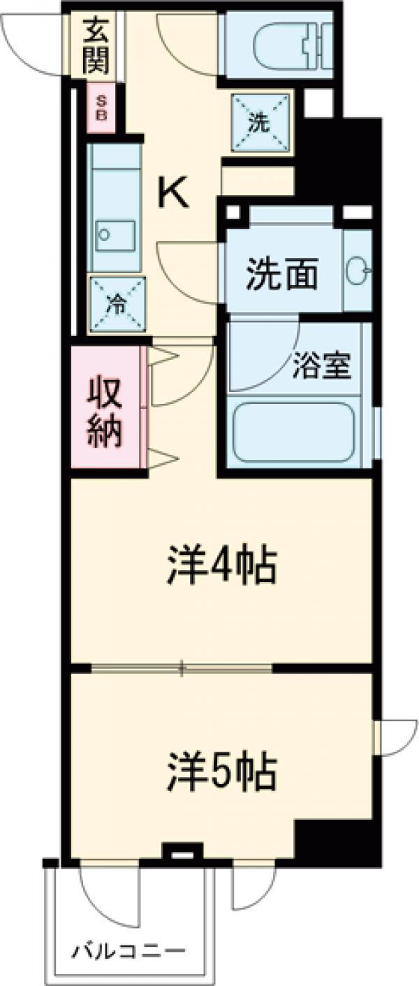 DeLCCS  IKEBUKURO・603号室の間取り