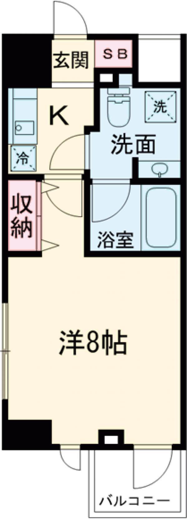 DeLCCS  IKEBUKURO・301号室の間取り
