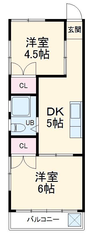 新栄ビル・301号室の間取り