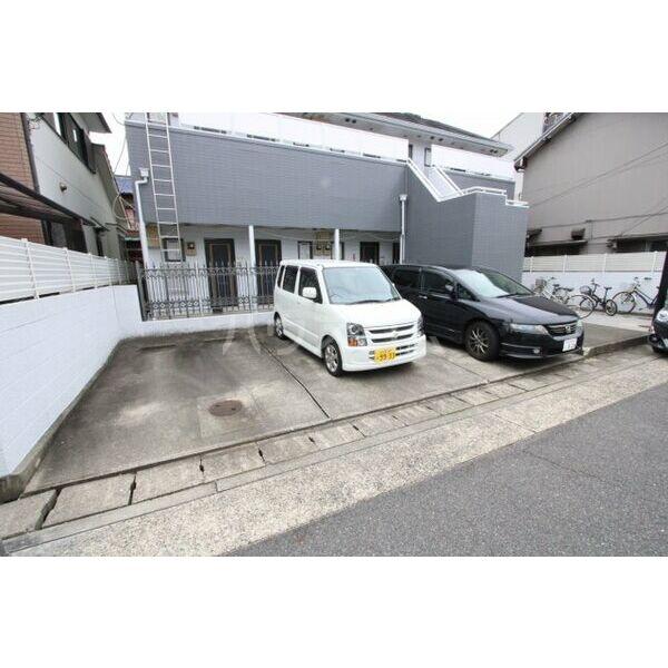 喜惣治レジデンス 202号室の駐車場