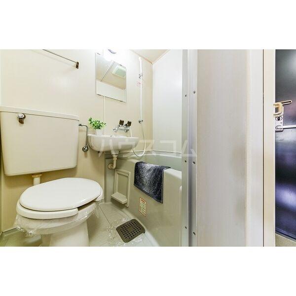 喜惣治レジデンス 202号室の洗面所