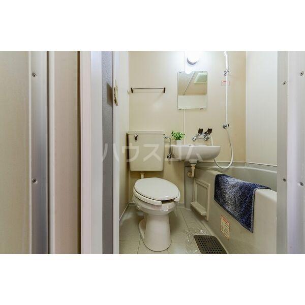 喜惣治レジデンス 202号室のトイレ