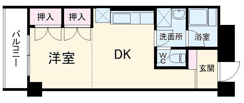 SKマンション・320号室の間取り