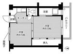 ビレッジハウス小島2号棟・209号室の間取り