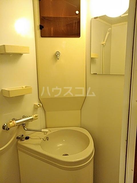 ダイヤモンドビル高田馬場 204号室の洗面所