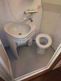ダイヤモンドビル高田馬場 204号室のトイレ