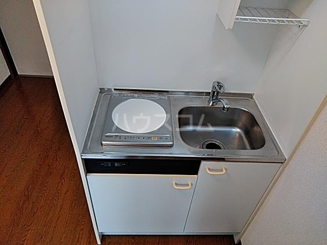 ダイヤモンドビル高田馬場 206号室のキッチン