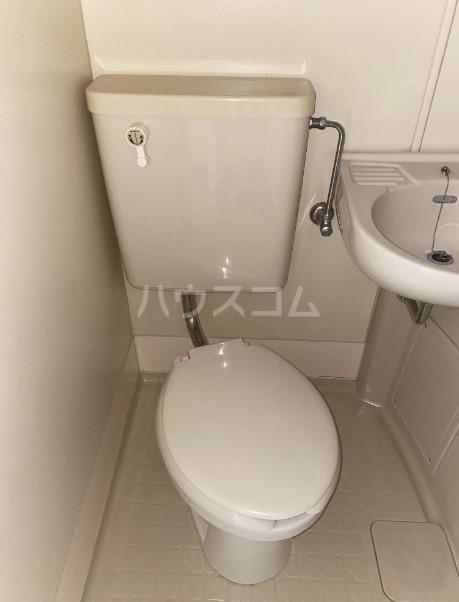 ラ・レジダンス・ド・タクマ 505号室のトイレ