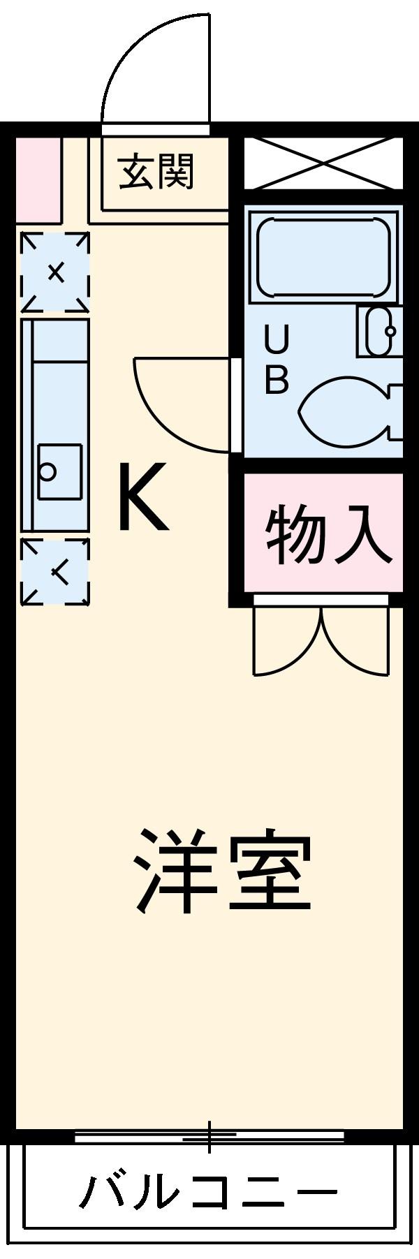 ファインコート益田・212号室の間取り