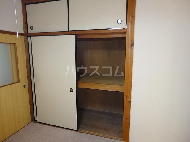 プチハイムキムラ 2-A号室の収納
