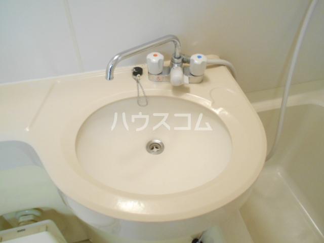 メゾンプラザ 412号室の洗面所
