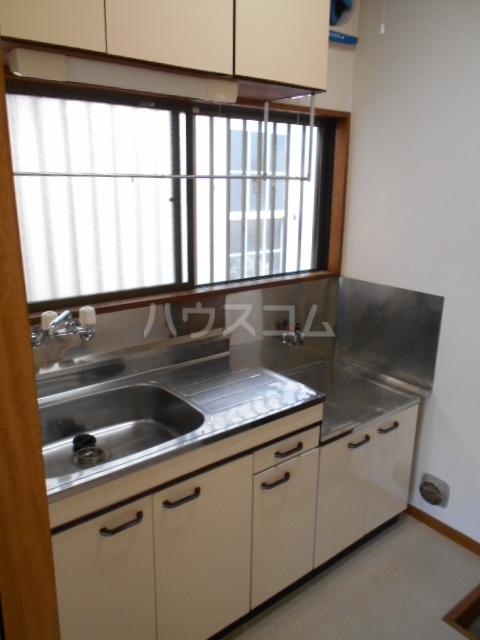 さくら荘 201号室のキッチン