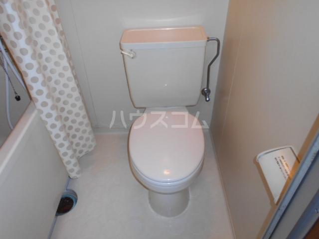 さくら荘 201号室のトイレ
