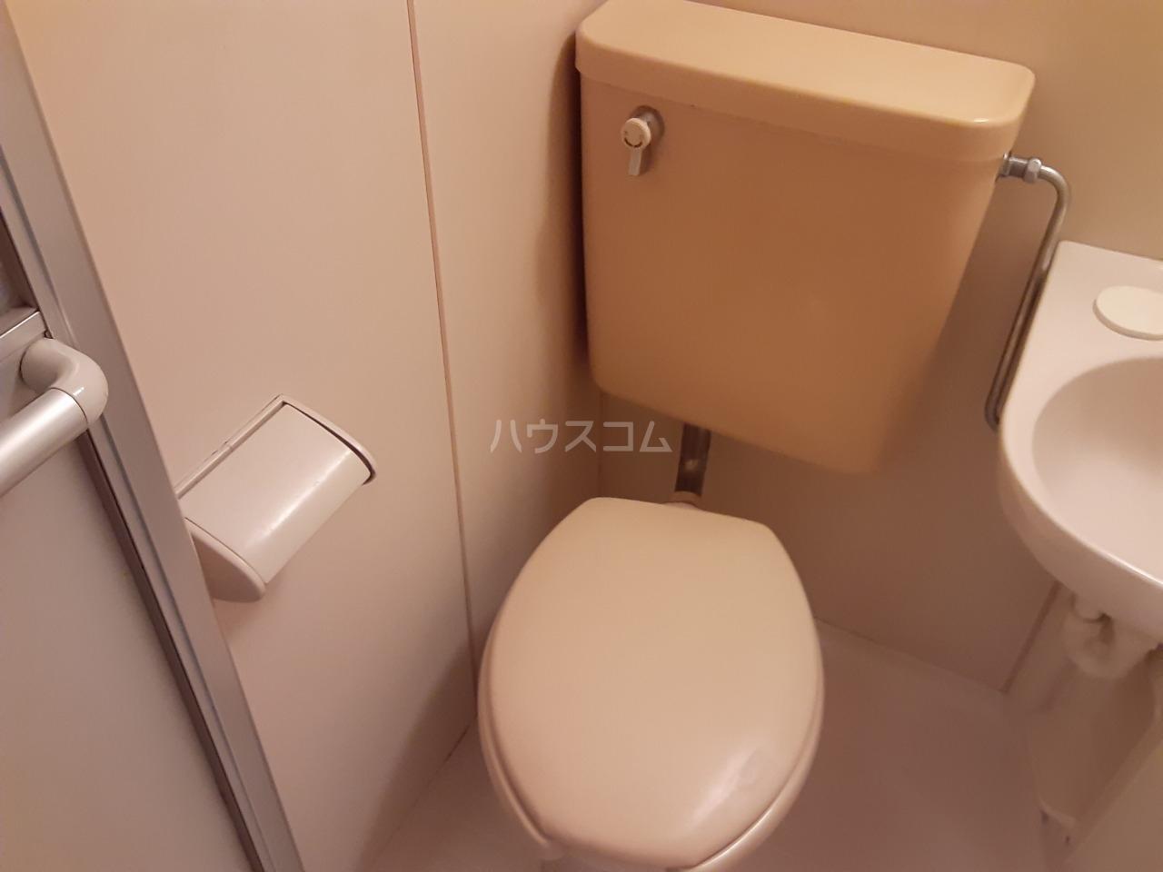 パレドール武蔵野台Ⅱ 212号室のトイレ