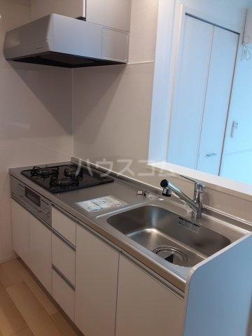 サニールーチェ 千波 02020号室のキッチン