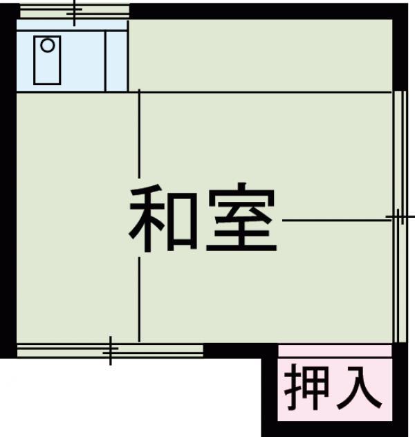 三恵荘・2010号室の間取り