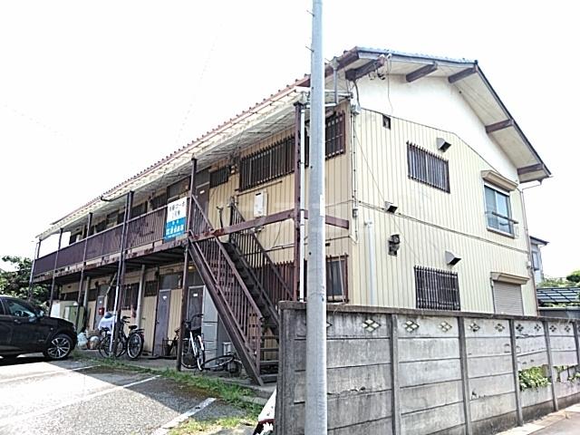 斉藤コーポ1号棟の外観