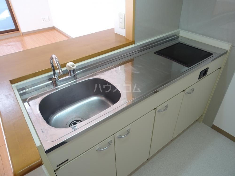 ウインディレイ 105号室のキッチン
