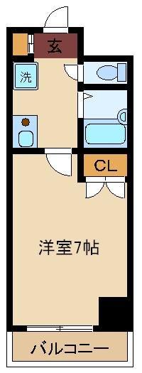 パレ・ドール九段下・503号室の間取り