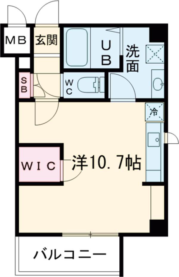 レオーネ亀戸Ⅱ・203号室の間取り