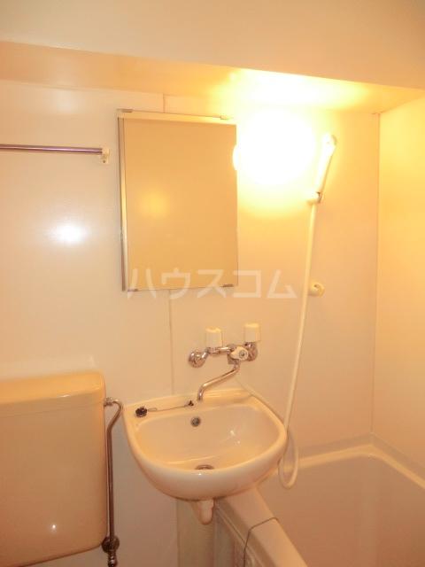 ユウパレス穴田 5C号室の洗面所