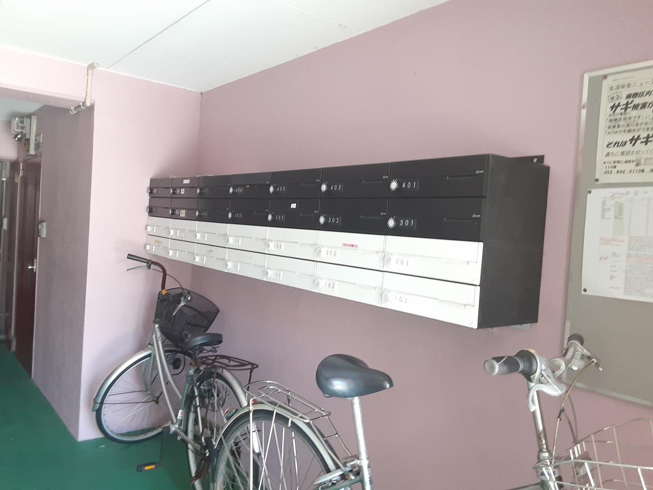 ラ・ヴィクレールⅡ 201号室の玄関