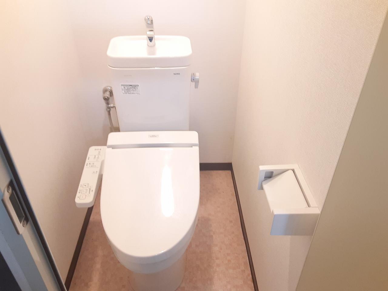 ラ・ヴィクレールⅡ 201号室のトイレ