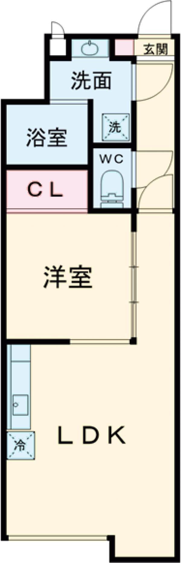 est Largo KOMAZAWAⅡ・302号室の間取り