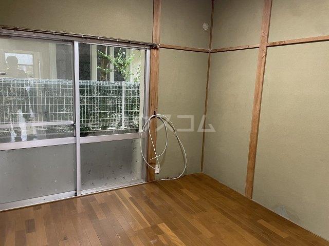 福寿荘 1-D号室のベッドルーム