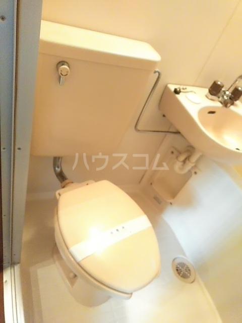 アップルハウスⅡ 102号室のトイレ