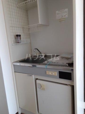 水戸パークシティー 301号室のキッチン