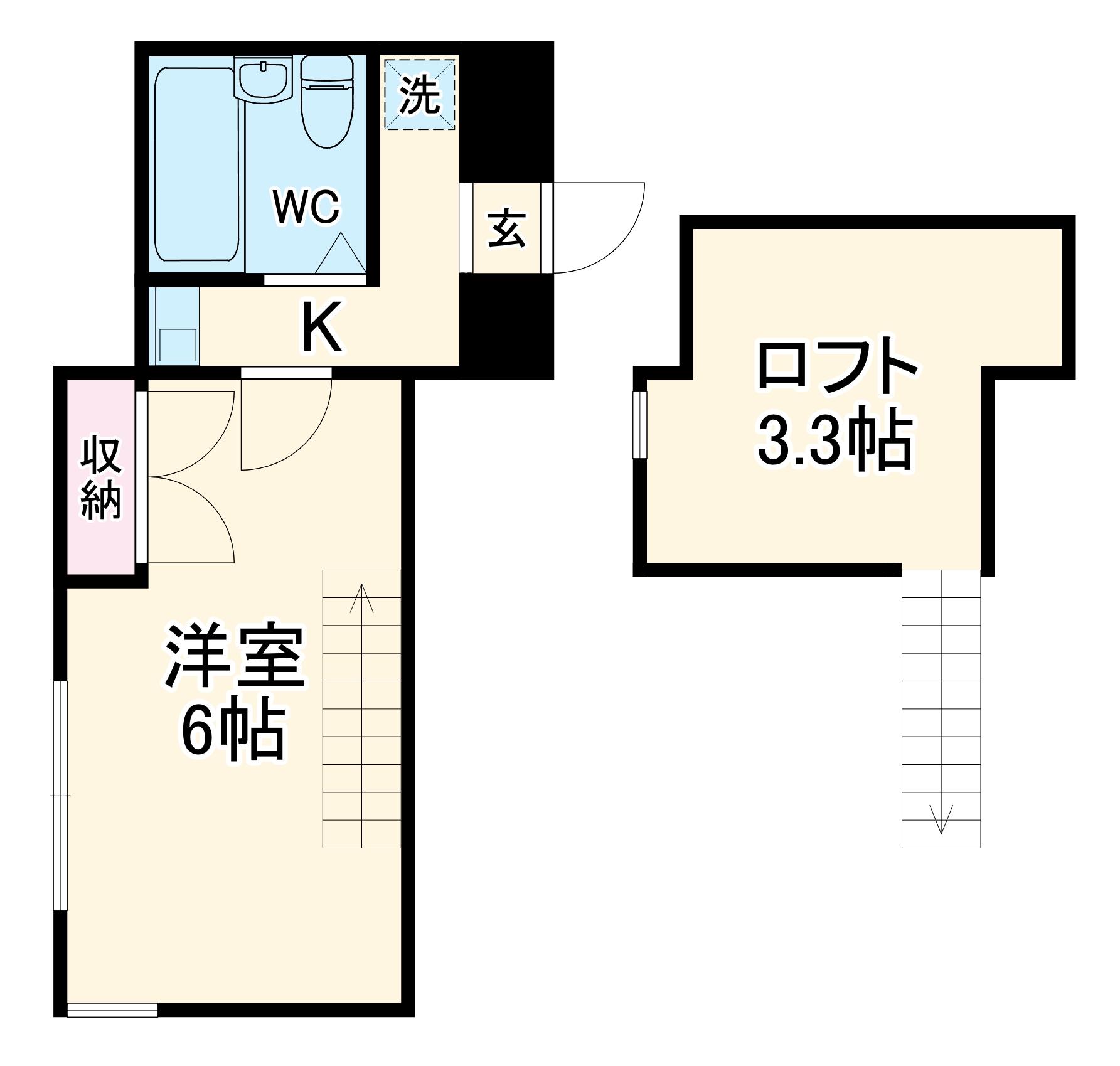 フジパレス行田壱番館・103号室の間取り