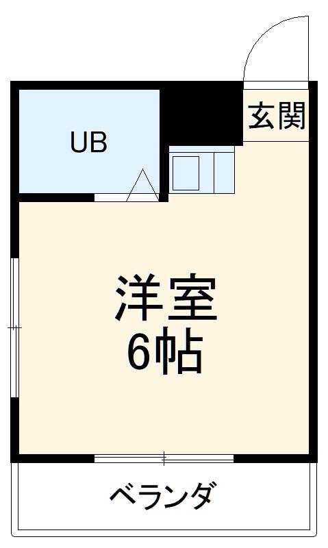 マンション日吉・2I号室の間取り