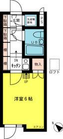 シティアビタ吉野町・207号室の間取り