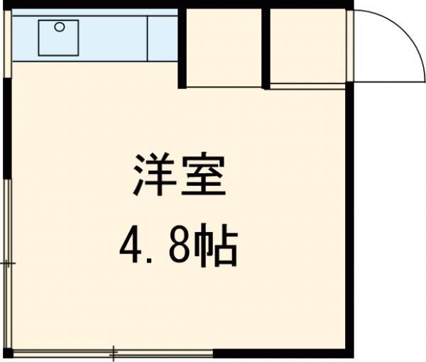 浅見荘 12号室の間取り