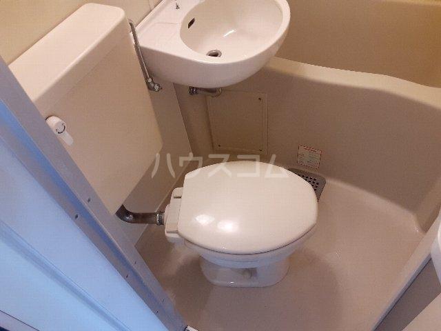 Azur新守山 206号室のトイレ