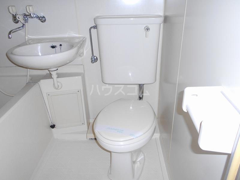 仙台屋ビル 202号室のトイレ