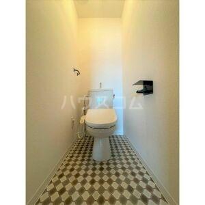 山名屋ビル 503号室のトイレ