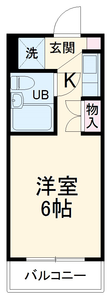 ダイホープラザ橋本Ⅲ・502号室の間取り