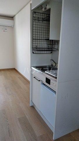 グリーンヒルズ 202号室のキッチン