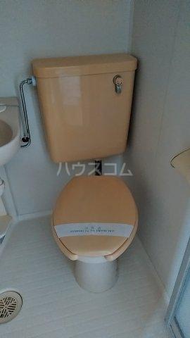 グリーンヒルズ 202号室のトイレ