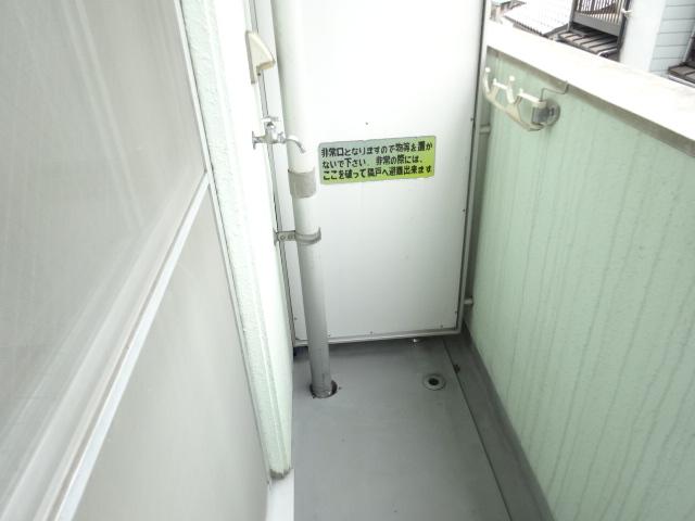 第22長栄エバグリーン桂川 401号室のバルコニー