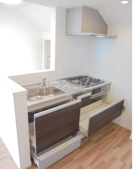 Soie de lumiere 301号室のキッチン