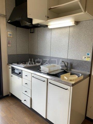 サンビレッジ清瀬 A棟 206号室のキッチン