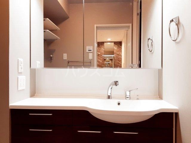 メゾンレジデンス 205号室の洗面所