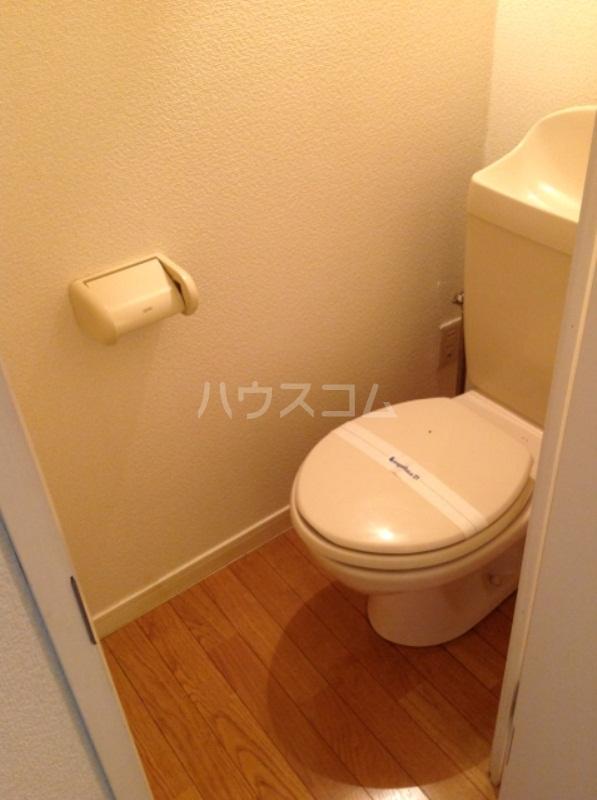 レオパレスラビドールⅠ 204号室のトイレ