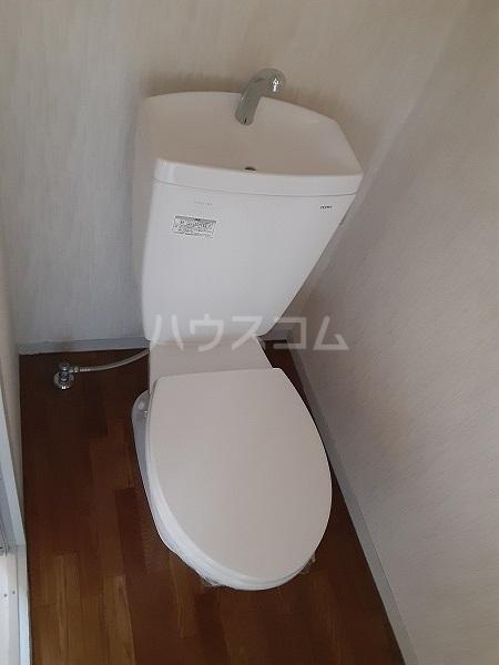 メゾンアグネス B棟 202号室のトイレ