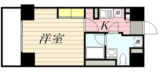 Flat平塚・1201号室の間取り