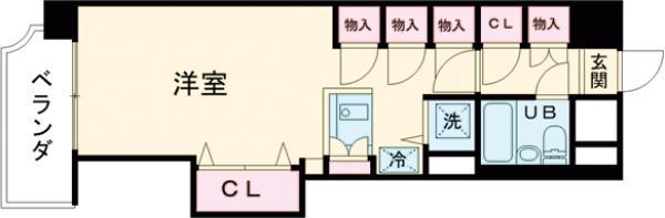 ワコー第3マンション・502号室の間取り
