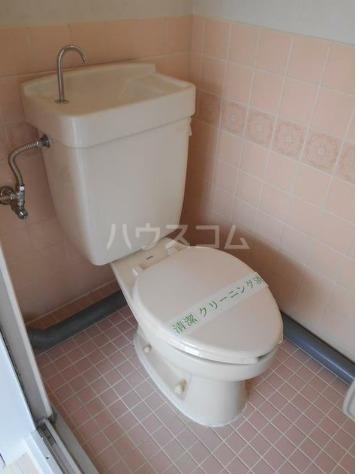 エムティハイツ 206号室のトイレ